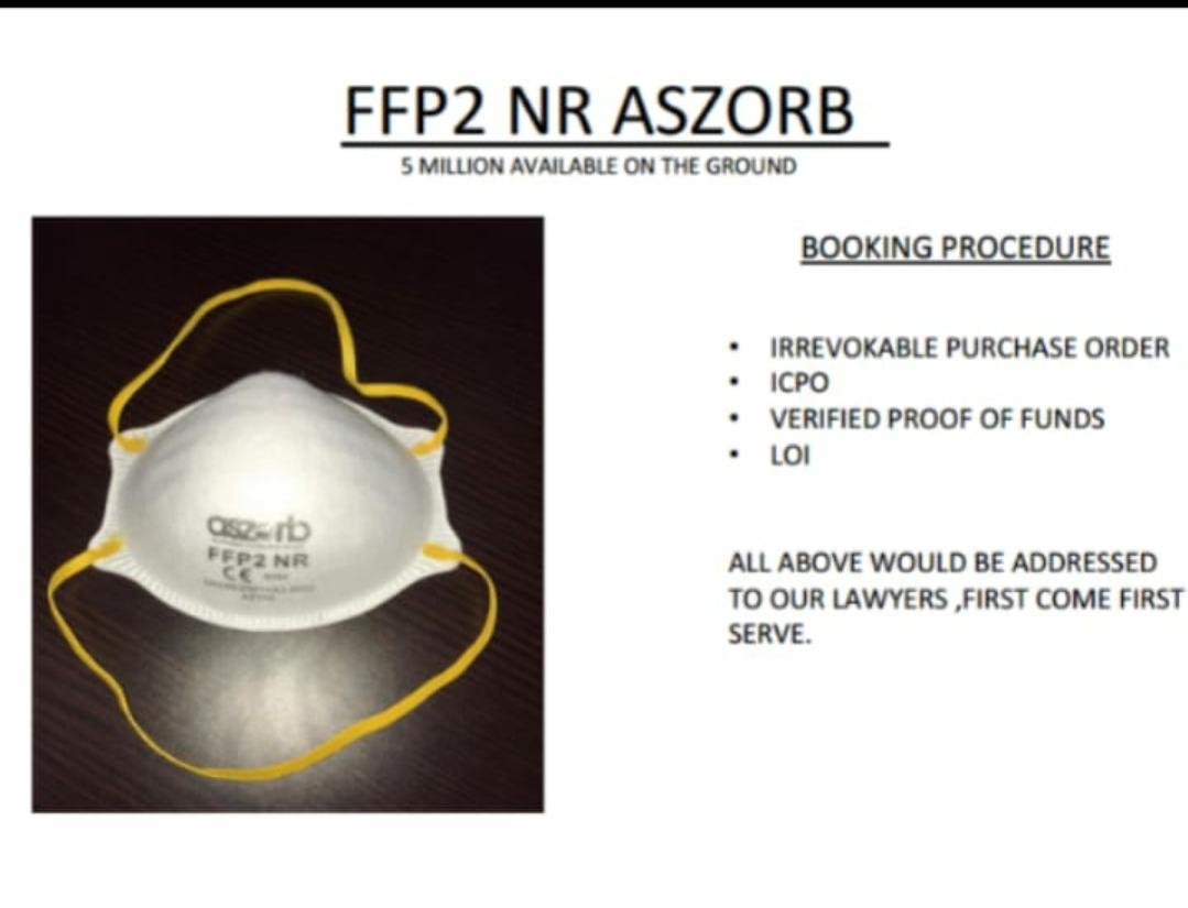 FFP2 NR ASZORB