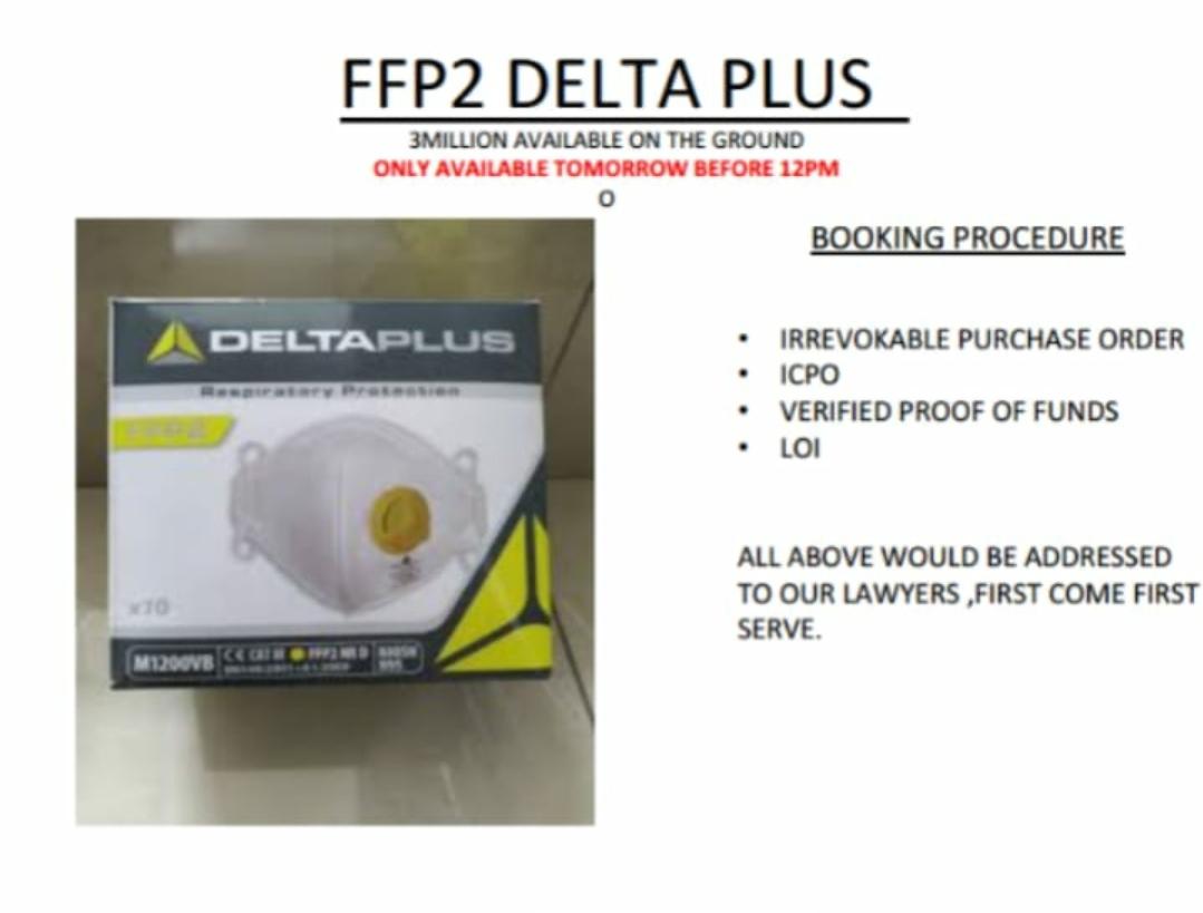 FFP2 DELTA PLUS